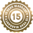 15 Year Warranty on U.S.A Made Artificial Grass